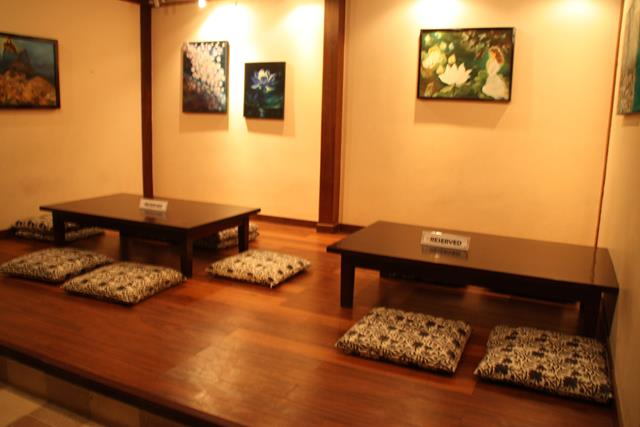 Traditional Japanese Restaurant Traditional Japanese Tables at